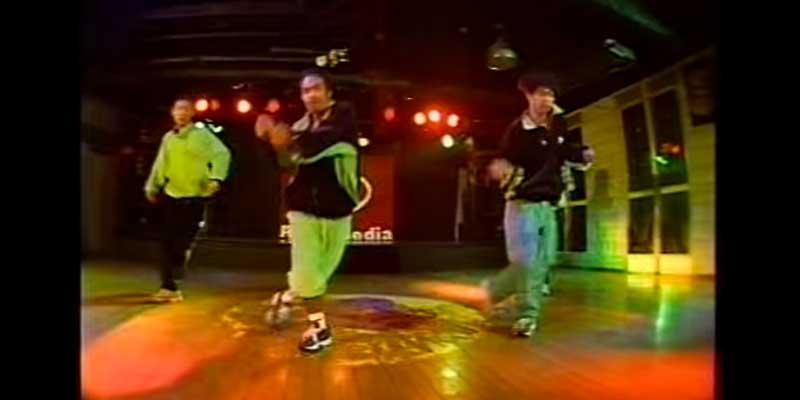 EXILE ダンス
