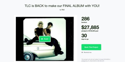 世界初!?アーティストがアーティストを支援。なんと「TLC」のクラウドファンディングにケイティ・ペリーが寄付!