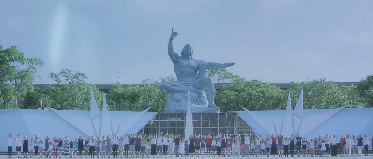 戦争 平和 ダンス 願い 長崎