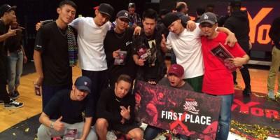 歴史的快挙!THE FLOORRIORZがBattle Of The Year 2015で日本人初優勝!
