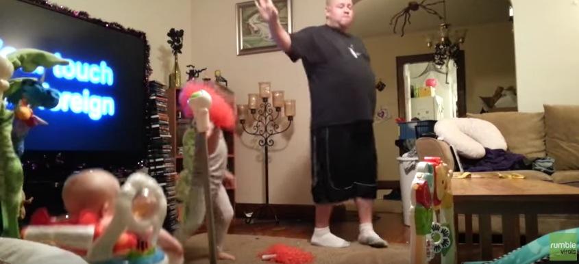 パパ ダンス 留守 子供