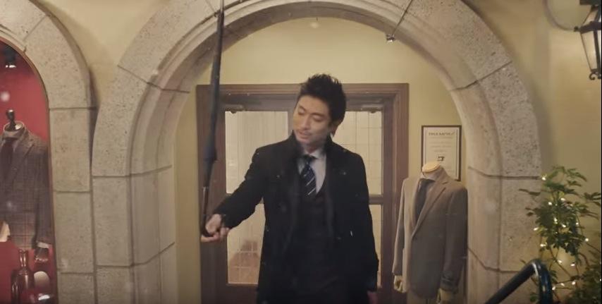 EXILEがスーツでダンス 雪の舞う中で踊る3人の、大人のカッコ良さに