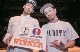 JUSTE DEBOUT JAPAN 2016 POP 動画
