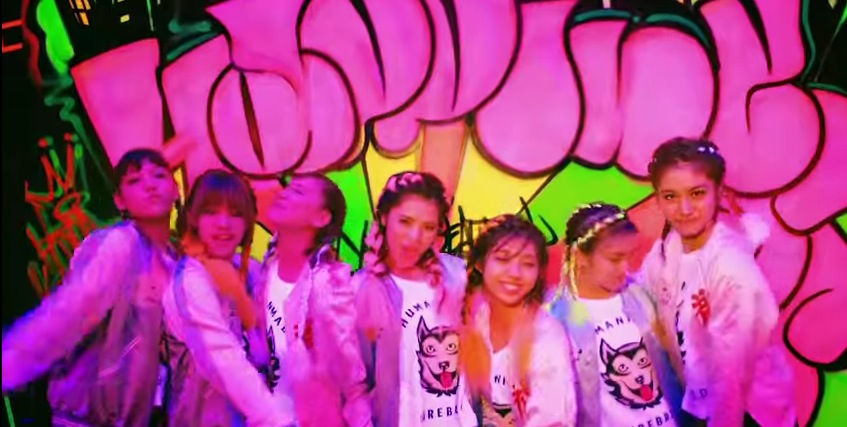 LDH,ダンス,E-girl,ハピネス,MV