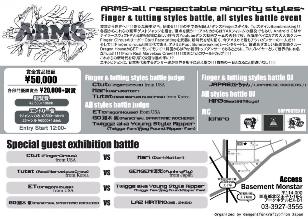 Finger & tutting styles battle, all styles battle, showcase event