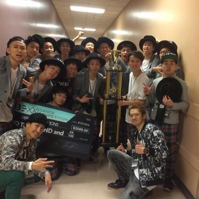 【速報】世界最高峰のダンスコンテスト「VIBE XXI DANCE COMPETITION」にて、強豪を抑えて日本代表GANMI!!が優勝!