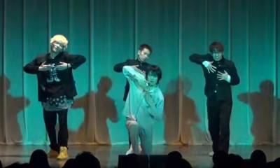 千原ジュニアとエグスプロージョンとタケトがダンスでコラボ!