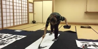 第一回ダンサー特技王決定!とにかくダンスと関係ない特技、NOEMI(JIBJAB)の「書道」!