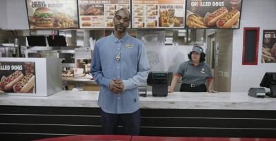 Snoop Doggがホットドックをひたすらオススメ!Burger King ft. Snoop Dogg