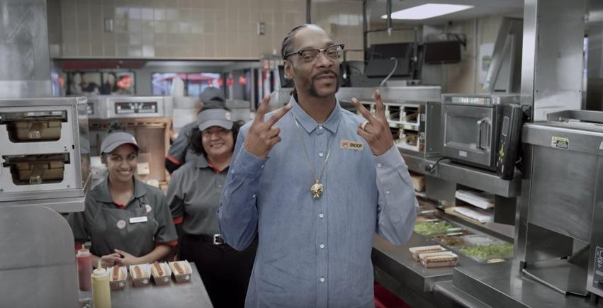 スヌープドック, Snoop Dogg ,ハンバーガー,バーガーキング