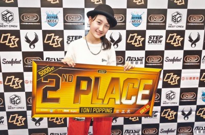 美少女ポッパーRingo Winbeeが台湾のバトル「OBS 10th Anniversary」にて見事準優勝!