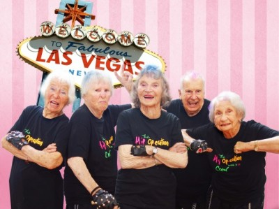 ギネス認定の世界最高齢ヒップホップダンスグループ