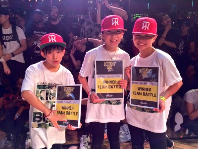 [快挙!!] INTERNATIONAL ILLEST BATTLEでTEAM JAPAN Twiggz Famが優勝