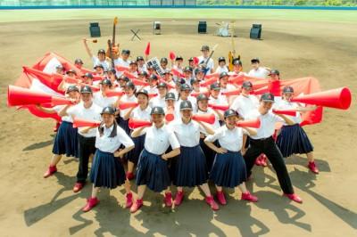 大阪府立今宮高校のダンス部員107人が集結!第98回全国高校野球選手権大会ダンスCM公開