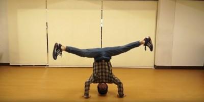 【動画有り】RAB流、オタクでもできる簡単ブレイクダンス講座:ヘッドスピン編