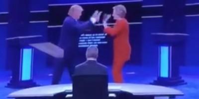ヒラリーとトランプがロックダンス!?アメリカ大統領選の討論会ダンス動画がネット上で話題