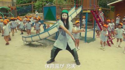 京都市が日本一!?「子育てし易い」街。平成KIZOKUがダンスでアピール