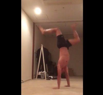 武井壮 ブレイクダンス