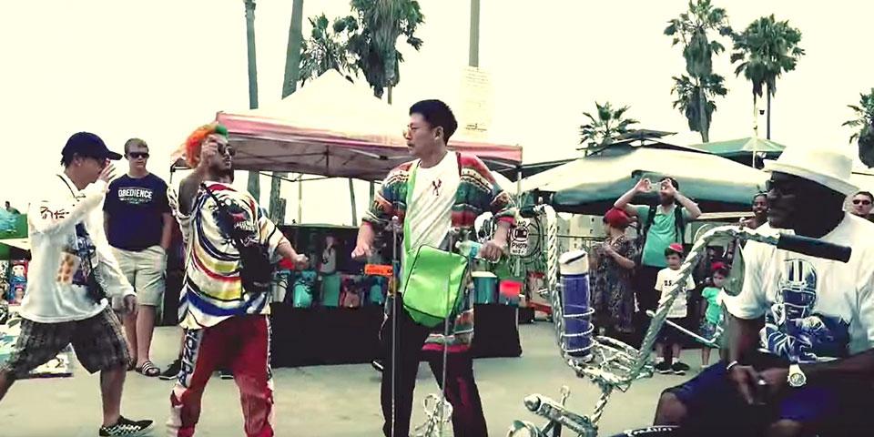 現地の人達も笑顔に!LA滞在中のKING OF SWAGがストリートパフォーマンスで注目 | ダンスの情報サイト